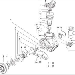 Αντλία υψηλής πίεσης COMET IDS 1401