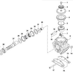 Αντλία χαμηλής πίεσης COMET BP 110