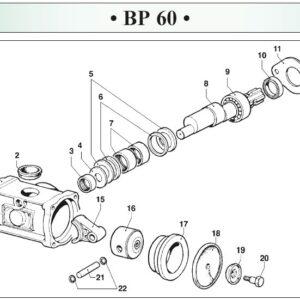 Αντλία χαμηλής πίεσης COMET BP 60