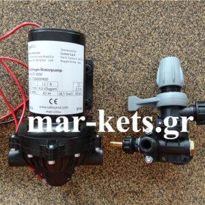Αντλία ψεκαστικών ηλεκτρική 12 volt COMET EF 4000