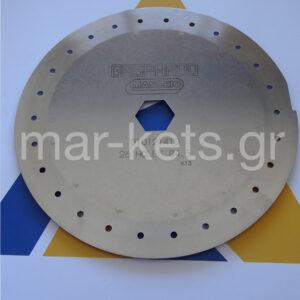 Δίσκος σπόρου καλαμποκιού 4,5 χιλιοστά 26 τρύπες Γνήσιος Gaspardo 510-520-530-MT