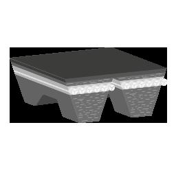 Ιμάντας διπλός 10x1400 Deutz