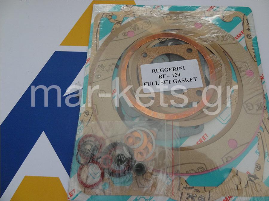 Σετ φλάντζες γενικής RUGGERINI RF140, RF148, RD950, RD950L- ACME ADN60 95mm
