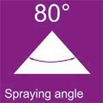 Μπέκ (ακροφύσιο) ομπρέλας 80°κεραμικό