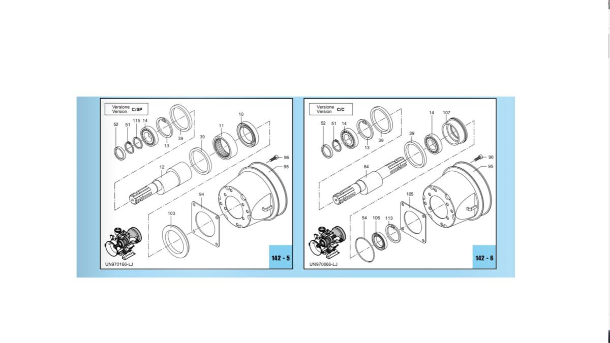 Annovi Reverberi AR703 - AR703C/SP - AR703C/C
