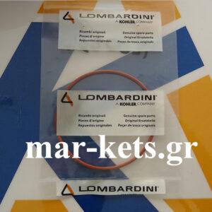 O-RING τάπας φίλτρου λαδιού (κορμού) LOMBARDINI 15LD315, 15LD350 - SILICON